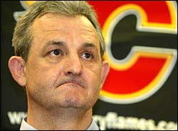 This is Darryl Sutter. He is the Flames GM. He is horrible at his job. But then, how often would a successful GM have that expression?